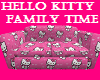 hello kitty family couch