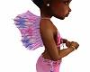 Kids pink mermaid fin