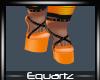 Halloween Orange Heels