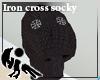 [Hie] Iron cross socky
