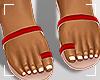 ṩJae Sandals Red