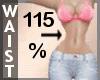 Waist Scaler 115% F A