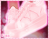 !F Pink Sneakers