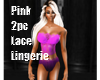 Pink 2 pcs Lingerie