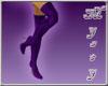~MR~ Stiletto Boots Purp