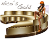 Gold Sofa Nico´s