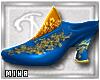 [M] Abira Slippers Blue