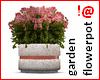 !@ Garden flowerpot
