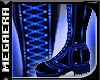 {MB} PVC Boot M ElecBlue