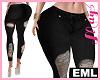 EML Bimbo Jeans Rip BK