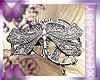 ArtDeco Silver Dragonfly