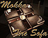 [M] Mokka Fire Sofa