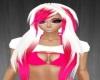 Violetta Pink White