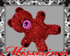 Teddy Bear Red for hand