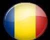 Romania Button Sticker