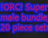 !ORC! Super male bundle