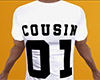 Cousin 01 Shirt White M
