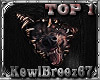 ~KB~ Wolf Bust-Out Top 1