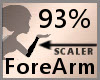 Scale ForeArm 93% F A