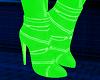 FG~ Neon Green Boots V1