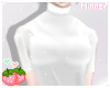♡ Turtleneck White