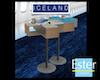 ICELANDAIR Coffee desk