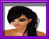 (sm)black pink long hair