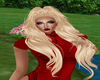 long hair blonde e