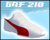 White Red Sport Shoes