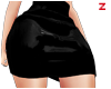 Z   Vinyl Skirt Black M