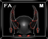 (FA)ChainHornsM Red