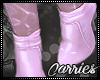 C Pink Iceee Booties