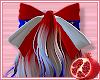 🎀 Patriotic Hair Bow
