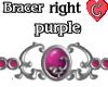 Bracer1 Purple RIGHT