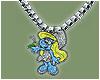 smurf necklace