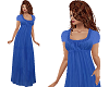 TF Blue Long Baggy Dress