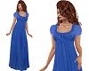 TF Blue Long Baggy Dress