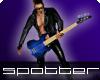 SFF Blue Bass Guitar