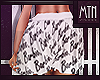 White Barbie Skirt|XBM