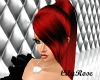 Hot Red DYAN Ponytail