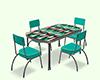 Table Rétro 60's II