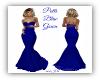 Patti Blue Gown