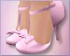 Pink Bowtie Heels
