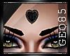 ^G^ black heart