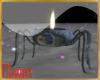 Spider halloween light