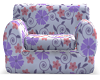 !HM! Purple Flower Chair