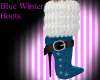 Blue Winter Boots