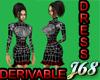 J68 Jill Derivable Dress