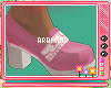 """A""""Pinky Deer Shoes"""