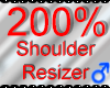 *M* Shoulder Resizer 200
